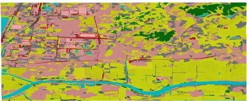 徐州市贾汪区土地利用现状遥感监测图