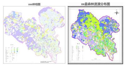 数字空间森林资源二类调查系统图片
